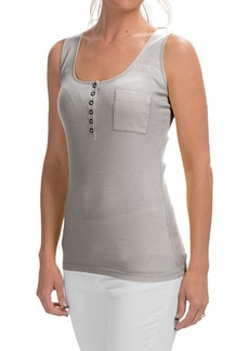 Lafayette 148 New York Henley Tank Top (For Women)