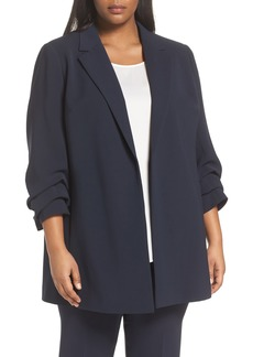 Lafayette 148 New York Henrik -Finesse Crepe Jacket (Plus Size