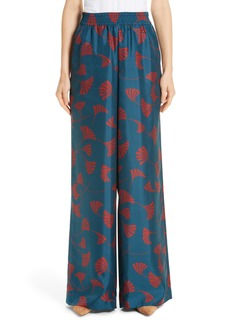 Lafayette 148 New York Hester Silk Wide Leg Pants