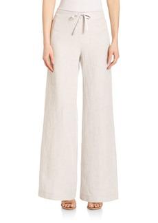 Lafayette 148 New York Hierarchy Linen Drawstring Pants