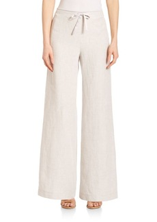 Lafayette 148 New York Hierarchy Linen Drawstring Pants