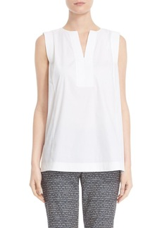 Lafayette 148 New York 'Hillary' Sleeveless Blouse (Regular & Petite)