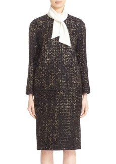 Lafayette 148 New York 'Holland' Guilded Tweed Jacket