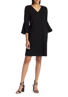 Lafayette 148 New York Holly Bell Sleeve Dress