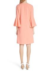 Lafayette 148 New York Holly Bell Sleeve Dress