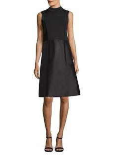 Lafayette 148 Indra Cotton and Silk-Blend Dress