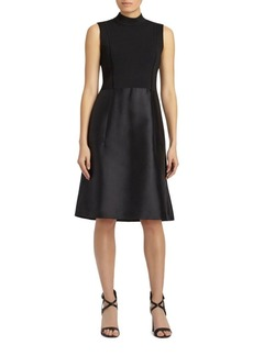 Lafayette 148 New York Indra Cotton and Silk-Blend Dress