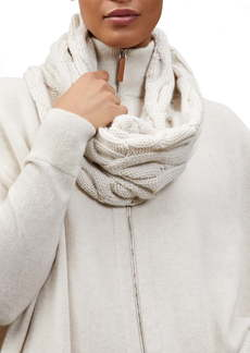 Lafayette 148 New York Infinity 8 Cable Cashmere Infinity Scarf