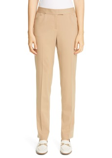 Lafayette 148 New York Irving Skinny Stretch Wool Pants