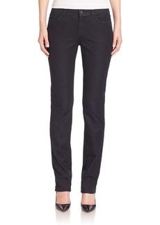 Lafayette 148 Italian Bi-Stretch Five-Pocket Denim Skinny Jeans