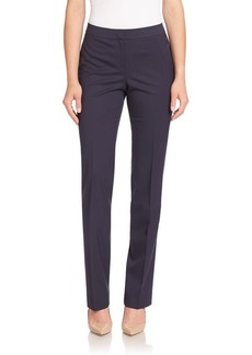 Lafayette 148 New York Italian Stretch Wool Barrow Pants