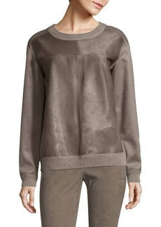 Lafayette 148 New York Iver Pullover Cashmere Sweater