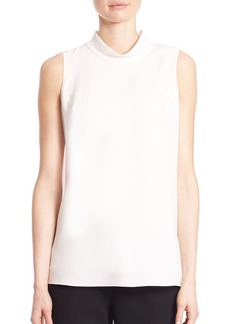 Lafayette 148 New York Jaden Silk Double Georgette Tunic