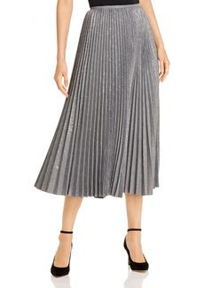 Lafayette 148 New York Jahira Pleated Midi Skirt