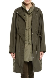 Lafayette 148 New York Jamyson Terrace Tech-Cloth Jacket