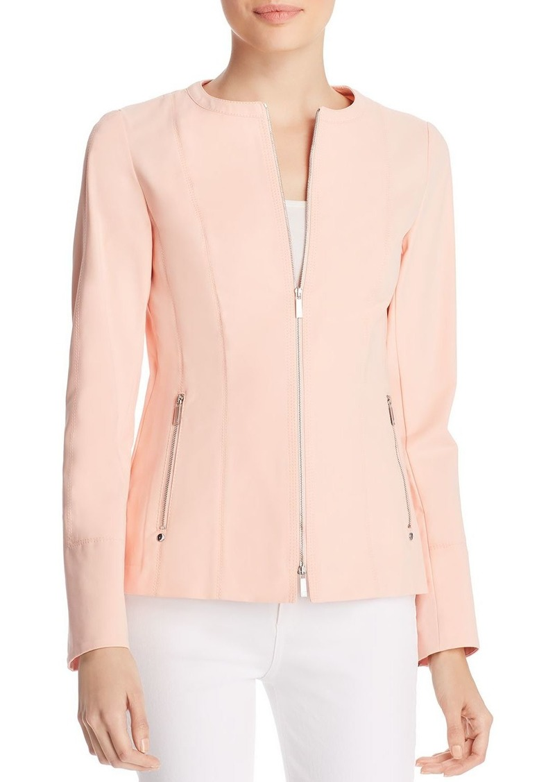 Lafayette 148 New York Janella Zip Jacket