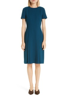 Lafayette 148 New York Jannie Pleated Hem Dress