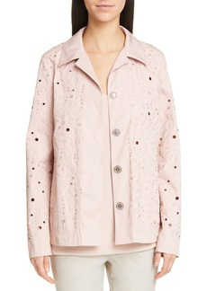 Lafayette 148 New York Jaren Embroidered Jacket