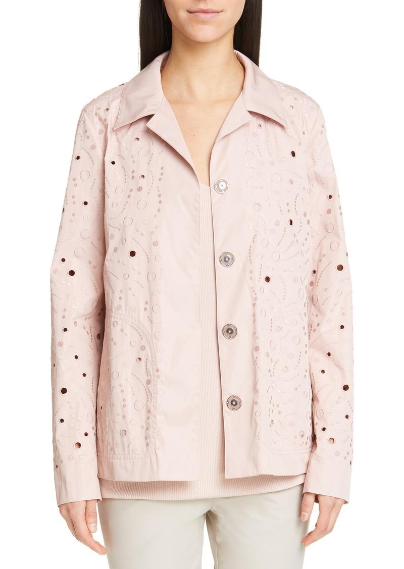 Lafayette 148 New York Jaren Embroidered Jacket