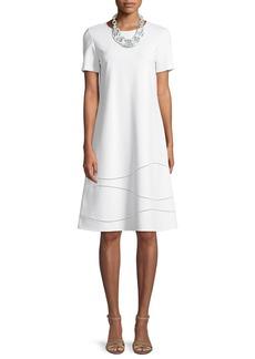Lafayette 148 New York Jasmin Punto Milano Dress