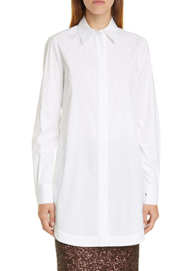 Lafayette 148 New York Jaycee Longline Shirt