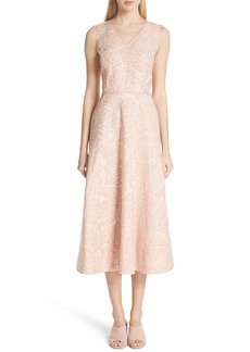 Lafayette 148 New York Jayda Print Linen Dress