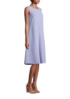 Lafayette 148 New York Jenilee Crepe Trapeze Dress