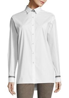Lafayette 148 New York Jessie Button-Down Shirt