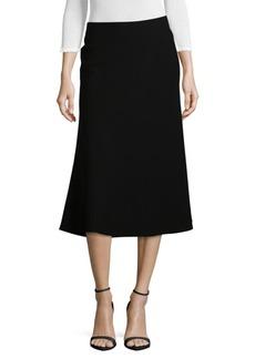 Lafayette 148 New York Johanna Midi A-Line Skirt