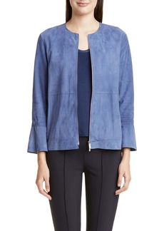 Lafayette 148 New York Johnsie Suede Jacket