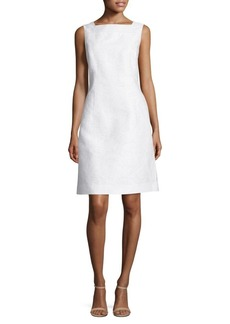 Lafayette 148 New York Jojo Cotton and Silk Jacquard Dress