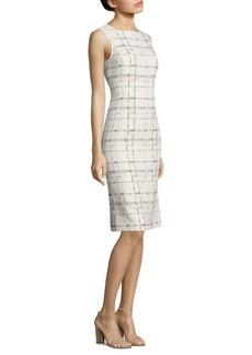 Lafayette 148 New York Jojo Stitch-Design Sleeveless Dress