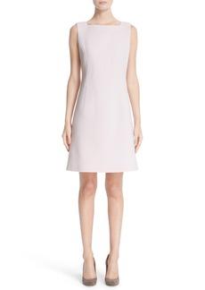 Lafayette 148 New York Jojo Wool Crepe Sheath Dress