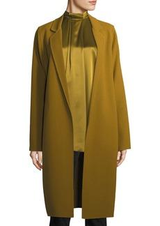 Lafayette 148 New York Jolina Nouveau Wool Crepe Jacket