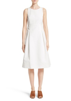Lafayette 148 New York Jordan Cotton Fit & Flare Dress