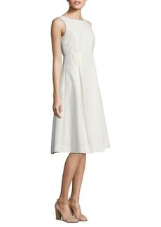 Lafayette 148 New York Jordan Dot Jacquard Cotton Dress