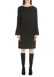 Lafayette 148 New York Jorie Finesse Crepe A-Line Shift Dress