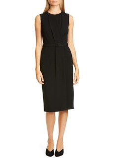 Lafayette 148 New York Jude Belted Sheath Dress