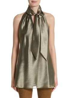 Lafayette 148 New York Julissa Bijoux Cloth Blouse