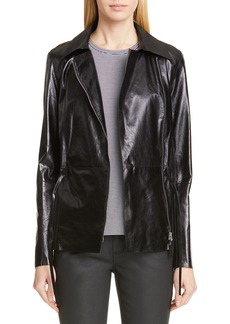 Lafayette 148 New York Jurnee Leather Jacket