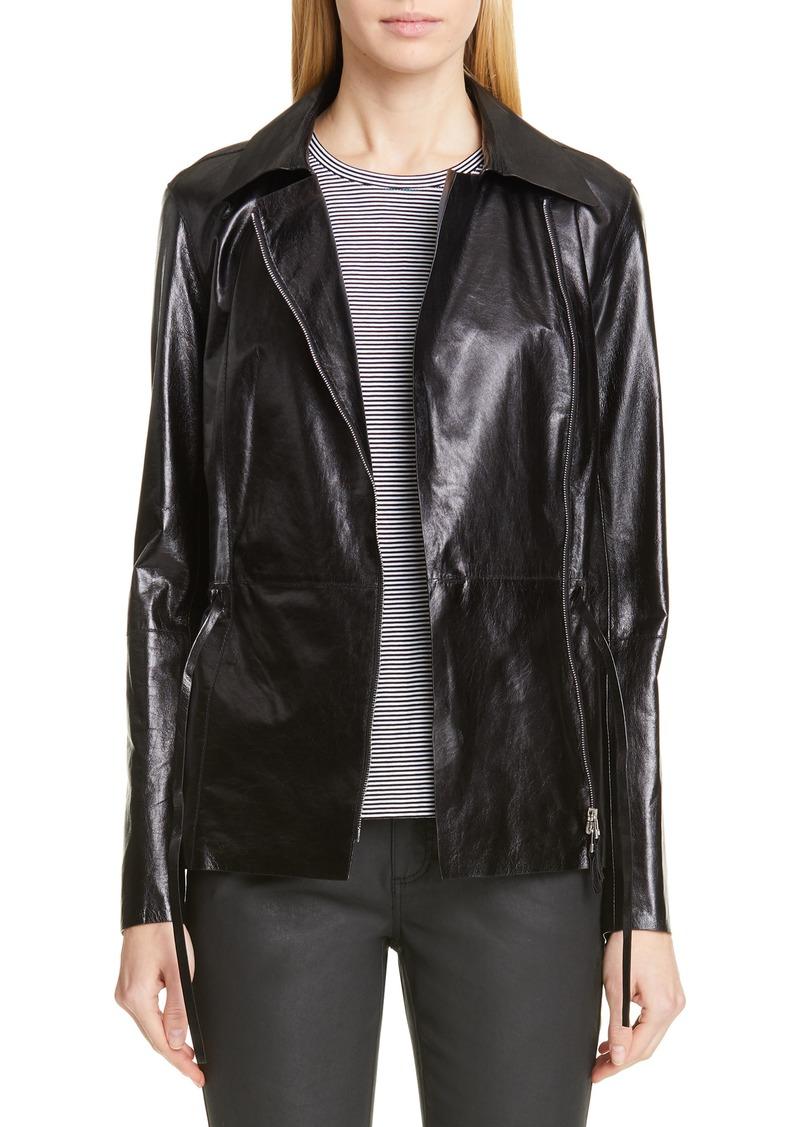 Lafayette 148 New York Jurnee Leather Jacket
