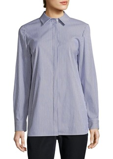 Lafayette 148 New York Kadin Collared Shirt