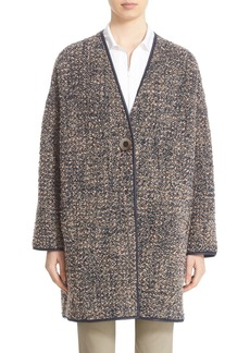 Lafayette 148 New York 'Katya' Reversible Bouclé Coat