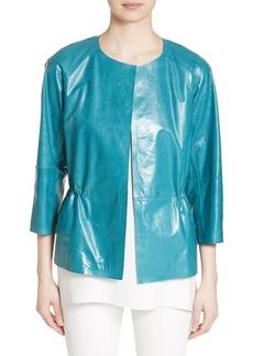 Lafayette 148 New York Keiran Leather Jacket