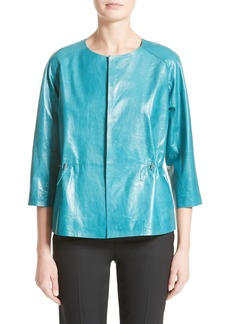Lafayette 148 New York Keiran Leather Jacket