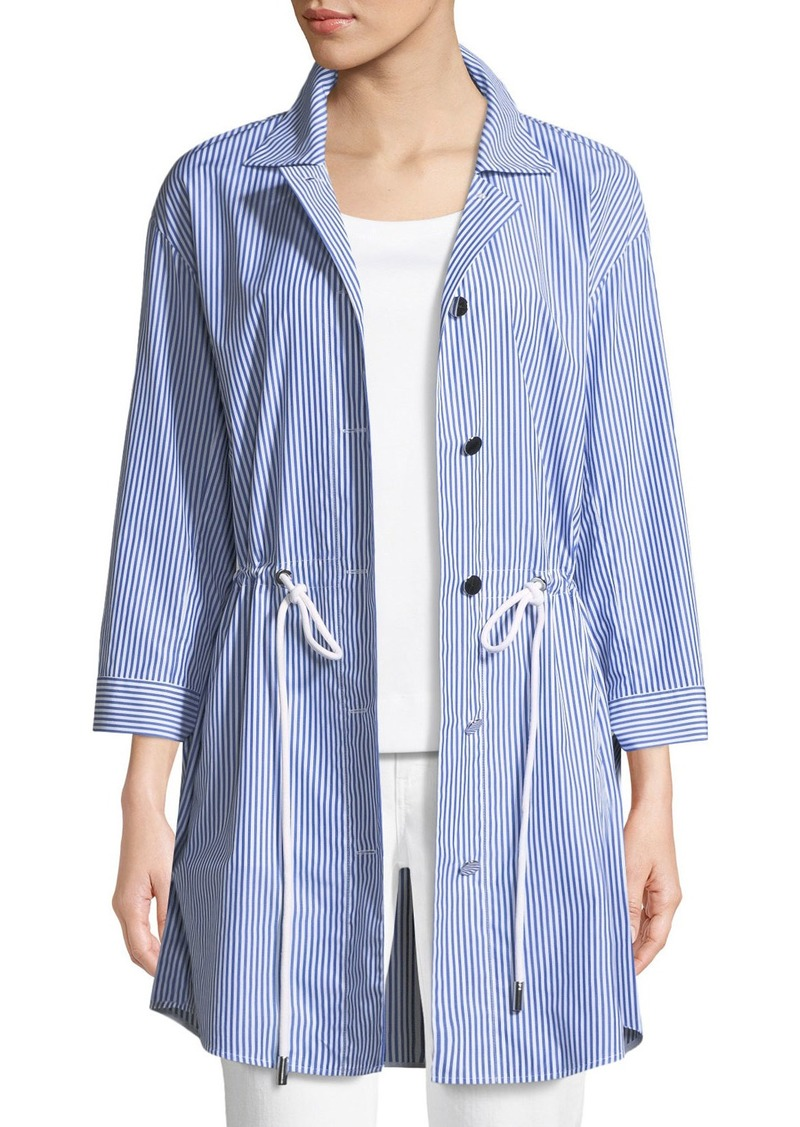 Lafayette 148 New York Keith St. Eves Striped Jacket