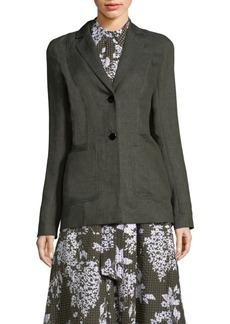 Kenley Italian Linen Blazer