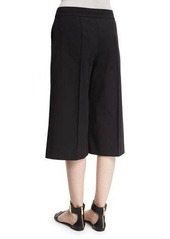 Lafayette 148 New York Kenmare Cropped Crepe Culottes