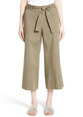 Lafayette 148 New York Kenmare Stretch Cotton Culottes