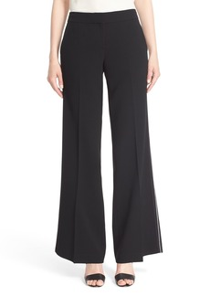 Lafayette 148 New York 'Kenmare' Piped Flare Leg Pants